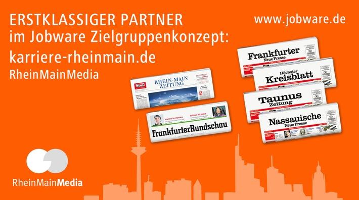 RheinMainMedia und Jobware kooperieren / Mehr Power für den Stellenmarkt im Rhein-Main-Gebiet