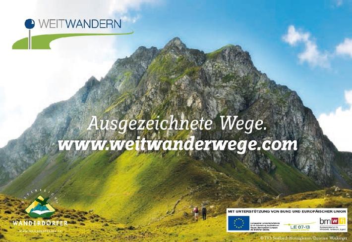 Ausgezeichnete Weitwanderwege auf www.weitwanderwege.com - BILD