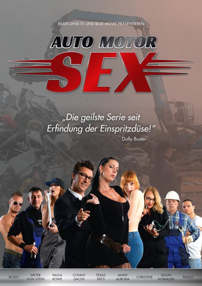 """Sex auf dem Schrottplatz / """"Auto, Motor, Sex"""" - In der neuen Serie lässt es Beate-Uhse.TV zum 15. Sendergeburtstag ordentlich krachen"""