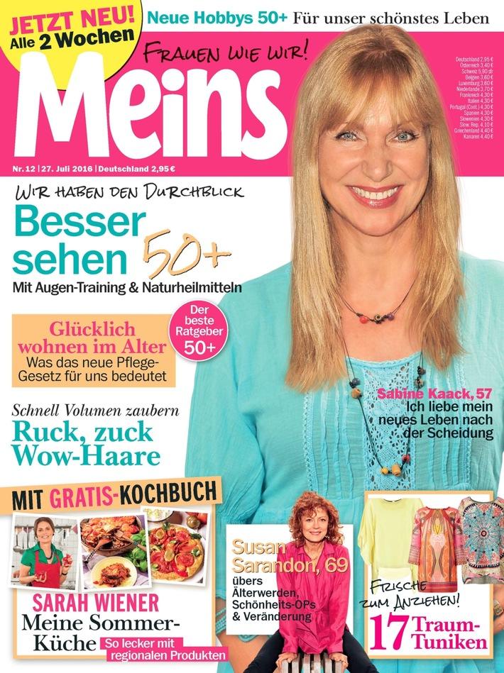 """Sabine Kaack (57) in Meins: """"Ich träume von einer Alters-WG mit meinen Freundinnen"""""""
