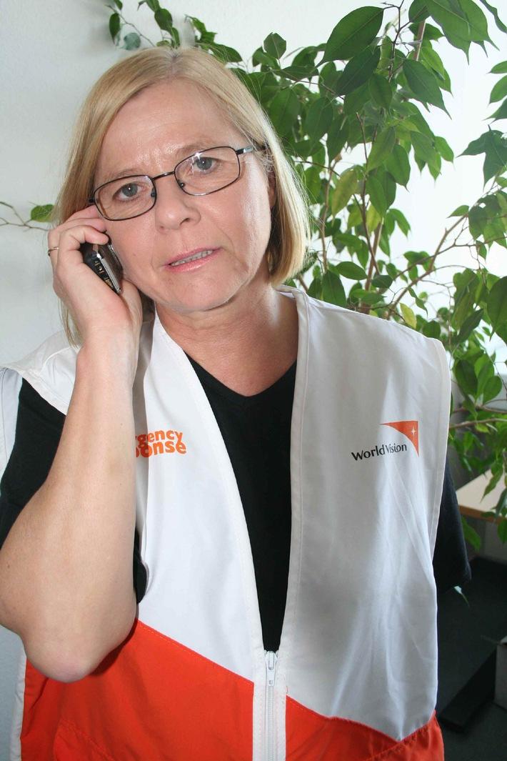 Interview mit Helga Stamm-Berg, World-Vision-Mitarbeiterin, zurzeit in Rangun, Myanmar