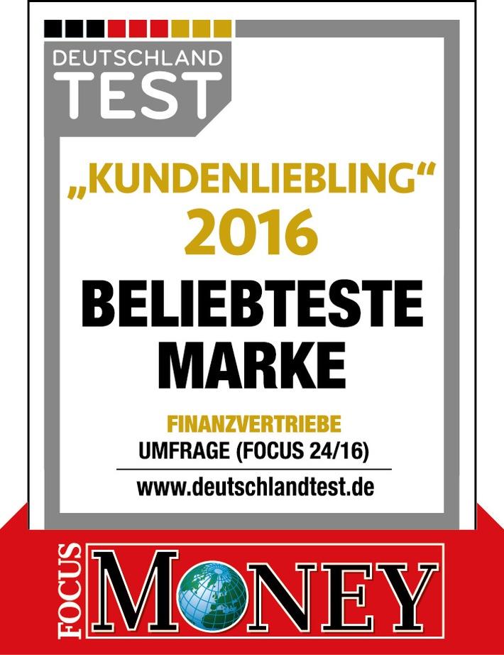 Ausgezeichnete Marke: Deutsche Vermögensberatung ist Kundenliebling 2016