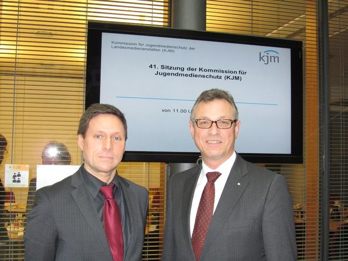 BLM-Präsident Schneider neuer KJM-Vorsitzender (mit Bild)