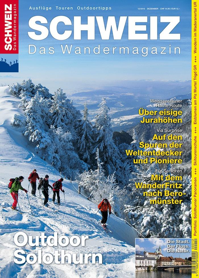 Wandermagazin SCHWEIZ: Outdoor Solothurn/ Wandern rund um Solothurn und im Jura