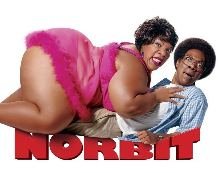 """""""Norbit"""": Eddie Murphy mal Drei am Donnerstag in SAT.1"""