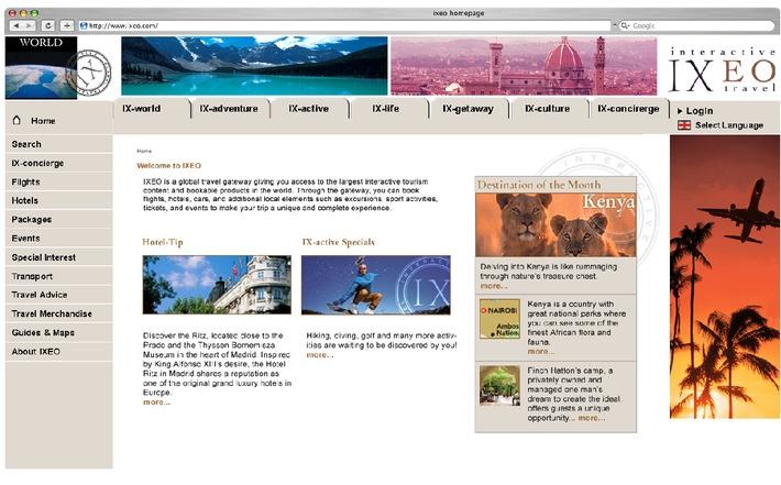 IXEO erweitert grösste globale Reiseplattform