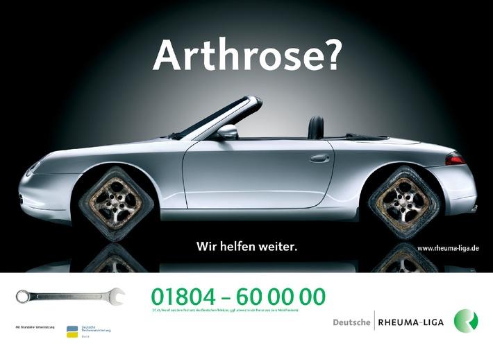Welt-Rheuma-Tag 12.10.2008 / Deutsche Rheuma-Liga befragt Arthrosekranke im Internet