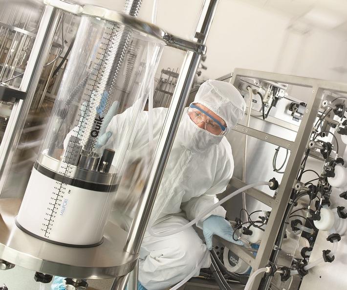 Merck plant gemeinsam mit International Vaccine Institute Entwicklung von Aufreinigungsprozessen der nächsten Generation