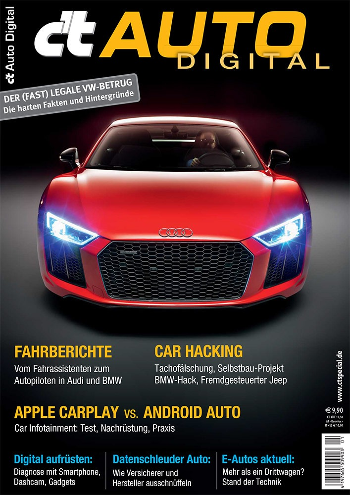 c't Auto Digital: Rollender Computer und Datenschleuder / Sicherheitsrisiko Auto