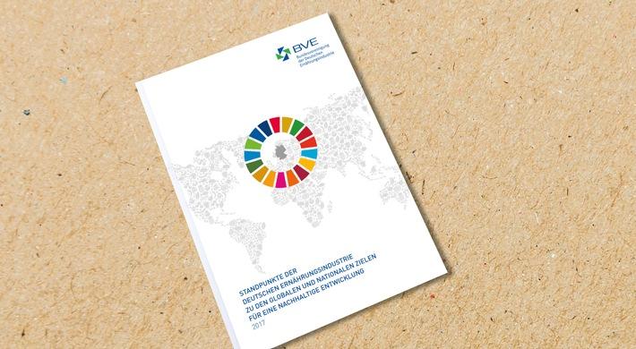 BVE berichtet über Initiativen zur Umsetzung der globalen Nachhaltigkeitsziele und präsentiert Jahresbilanz 2016