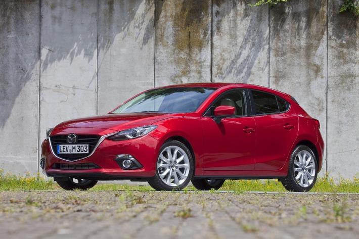 Rückgang auf dem Schweizerischen Automarkt für Mazda kein Thema (Bild)