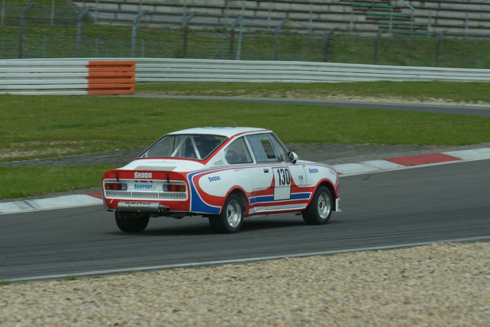 Hingucker am Nürburgring: SKODA startet mit dem 130 RS beim Oldtimer Grand-Prix