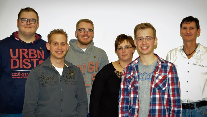 FW-OE: Tambourcorps Meggen: Bernd Puspas  für 50jährige Mitgliedschaft geehrt