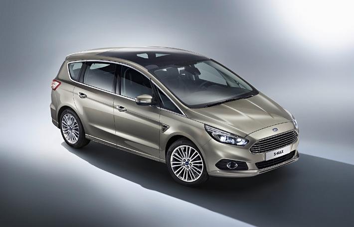 Neuer Ford S-MAX: Innovatives Sport Activity Vehicle überzeugt durch sein Design und neue Technologien