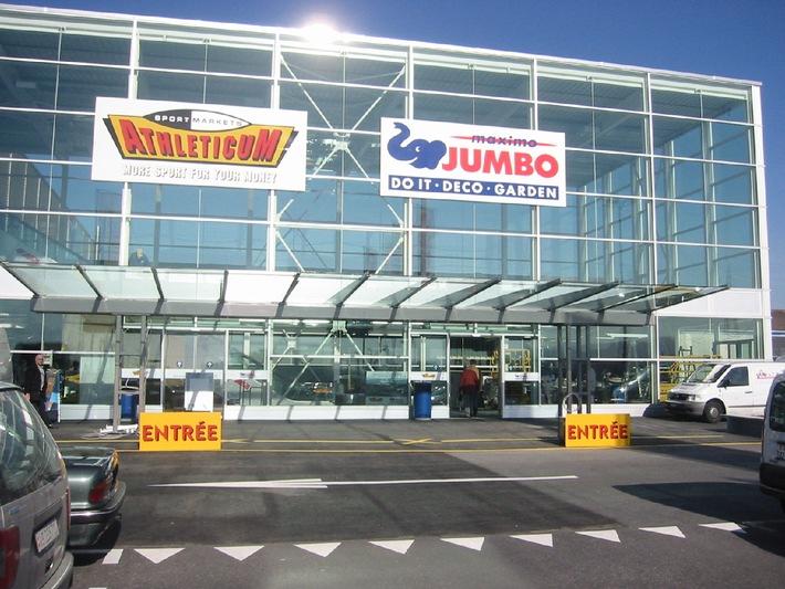 Réouverture du JUMBO Maximo DO IT - DECO - GARDEN de Bussigny mercredi 24 mars 2004 à 09h00
