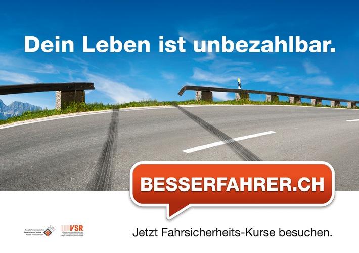 Deutlich mehr Besserfahrer auf Schweizer Strassen