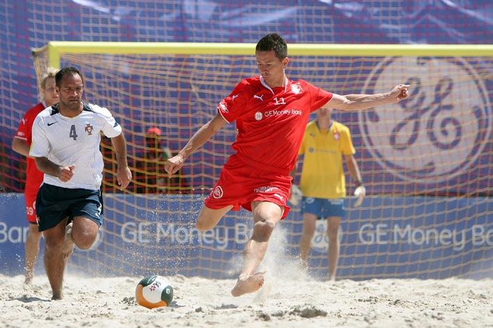 Swiss Beach Soccer e GE Money Bank rafforzano la loro collaborazione