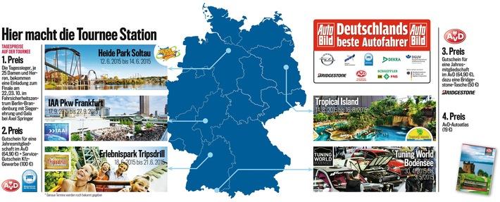 """""""Deutschlands beste Autofahrer"""" gehen in Friedrichshafen an den Start"""