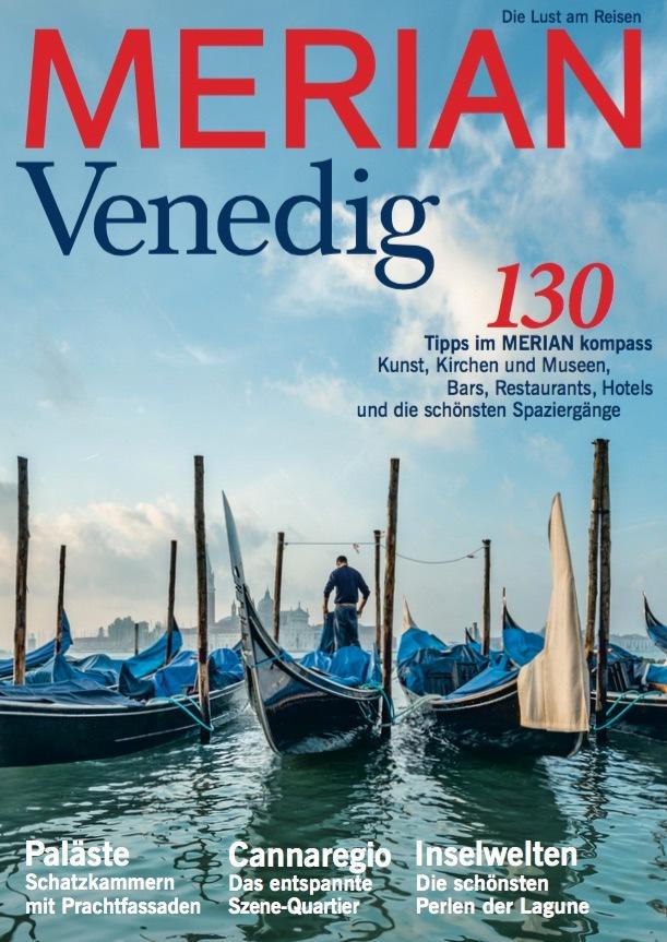 """""""Geliebte Schönheit"""" - Am 28. Januar erscheint der neue MERIAN über Venedig"""