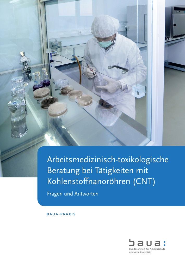 """Mit """"BAuA-Praxis"""" zum Umgang mit Carbon Nanotubes beraten / Sicheres Arbeiten mit Nanomaterialien"""
