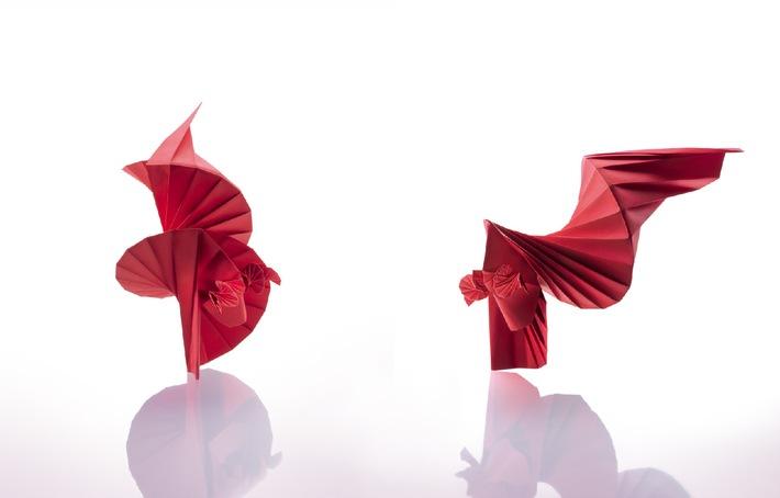 """""""Masters of Origami"""" ab 8. Juli im Hangar-7: Von der Vielfalt der Faltkunst"""