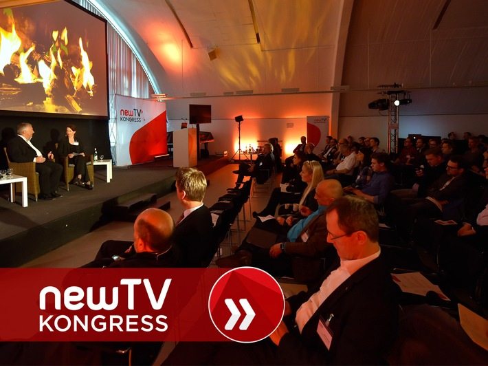 """Business Innovation On Screen"" - Bewegtbild von morgen beim newTV Kongress 2016"