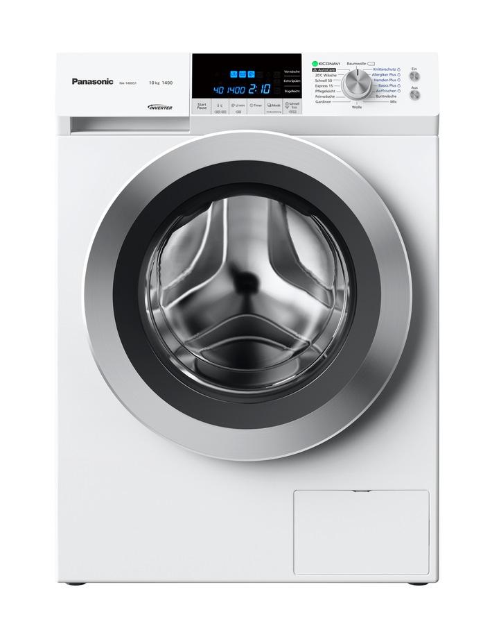Für jeden Bedarf die perfekte Waschmaschine von Panasonic