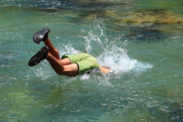 Plaisir de la baignade, oui mais en toute sécurité!