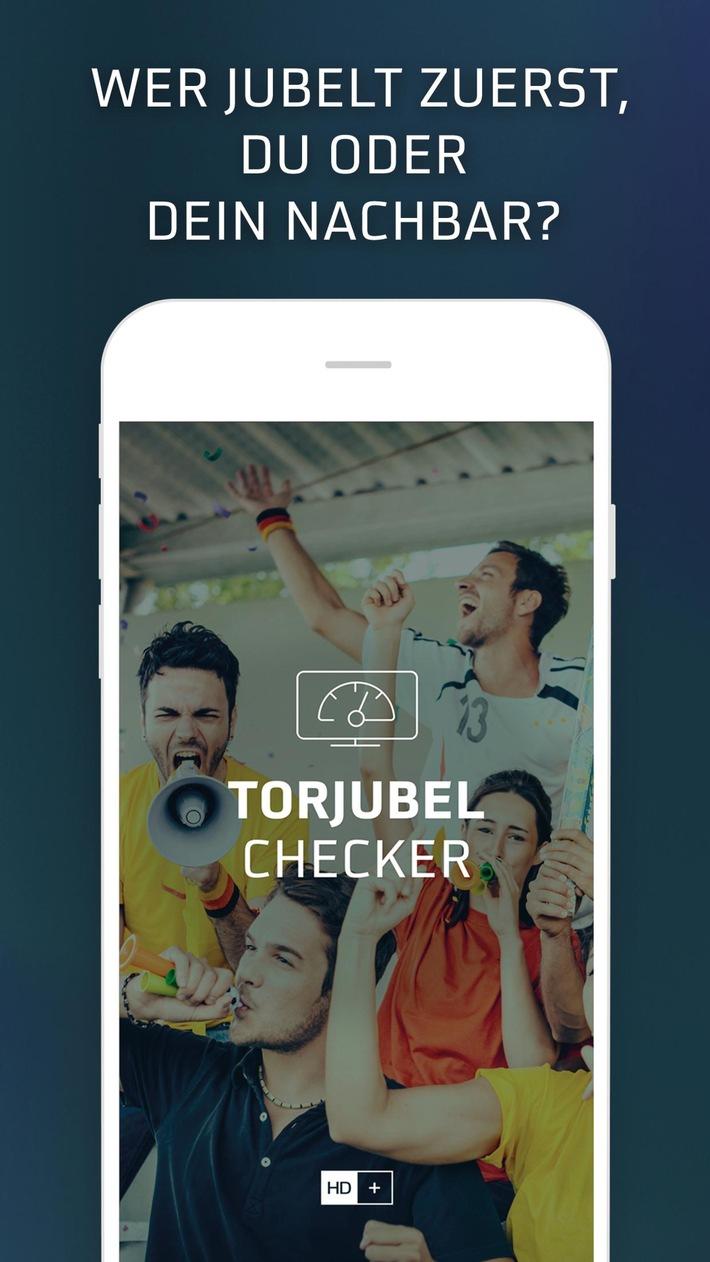 Torjubel-Checker-App von HD+: Wer zuerst jubelt, jubelt am besten!
