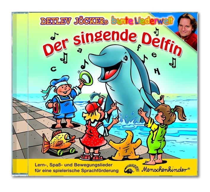 Von singenden Delfinen und Mäusen / Detlev Jöckers neue Alben für Sprachbildung und Kinderpartys (mit Bild)