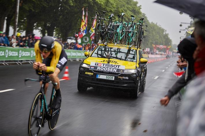 Tour de France: SKODA KAROQ begeistert die Massen