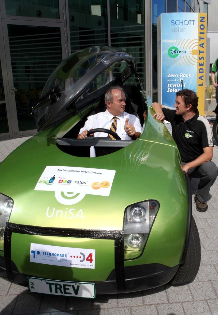 SCHOTT Solar und Zero Race machen (elektro-) mobil (mit Bild)