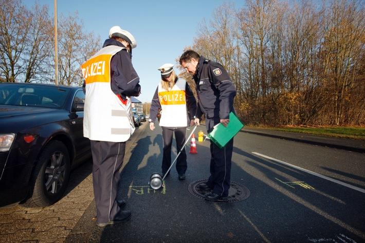 POL-REK: Kradfahrer schwer verletzt - Bergheim