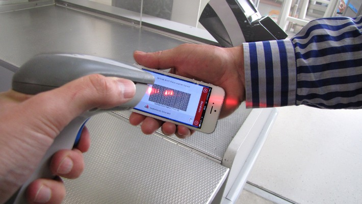JUMBO bringt mobiles Bezahlsystem - das Smartphone wird zur Kreditkarte (Bild / Video / Dokument)