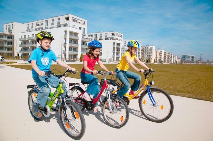 Sicher Radfahren nicht kinderleicht / Erst Achtjährige lernen Gefahren im Straßenverkehr erkennen