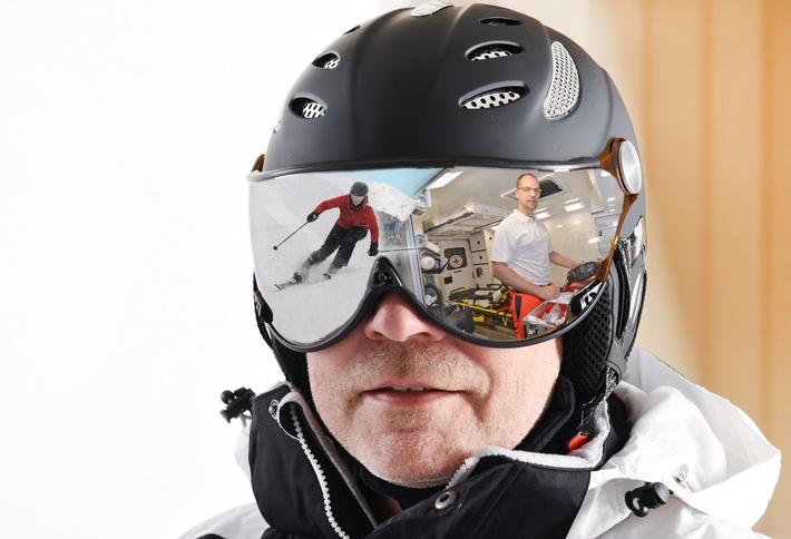 Winterurlaub ohne Reue / Auslandsreise-Krankenversicherung verhindert, dass zu den Schmerzen auch noch die Kosten kommen