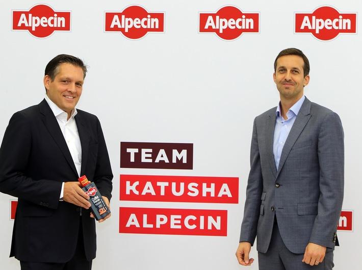 Shampoo Hersteller Alpecin wird Titelsponsor bei neuem Schweizer Radrennstall Katusha-Alpecin