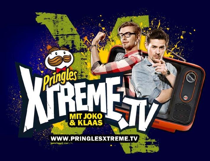Klaas und Joko präsentieren Pringles Xtreme TV (mit Bild)