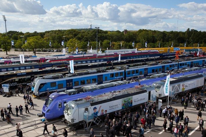 Faszination Hightech: Weltpremieren und neue Generationen von Schienenfahrzeugen auf den Gleisen der InnoTrans 2014