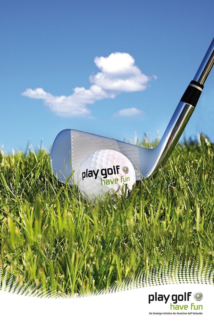 """Deutscher Golf Verband startet bundesweite Golf-Einsteiger-Kampagne """"play golf - have fun"""" (mit Bild)"""