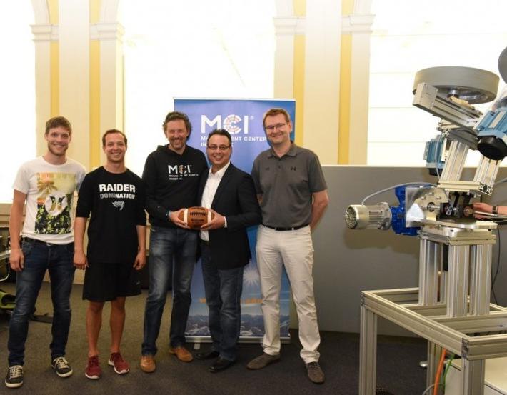 SWARCO RAIDERS Tirol trainieren mit MCI-Technologie