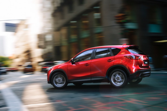 Mazda CX-5: déjà 450 commandes en Suisse