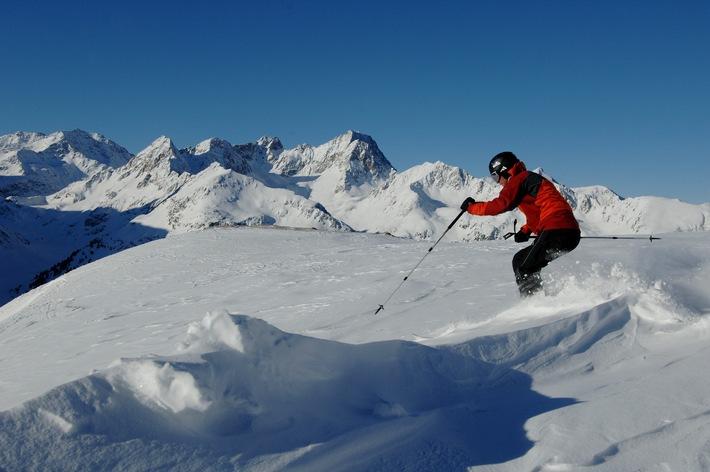 Sonnenskilauf bis nach Ostern im Kühtai in Tirol
