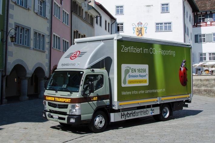 Erstes Schweizer Transportunternehmen nach EN 16258 zertifiziert