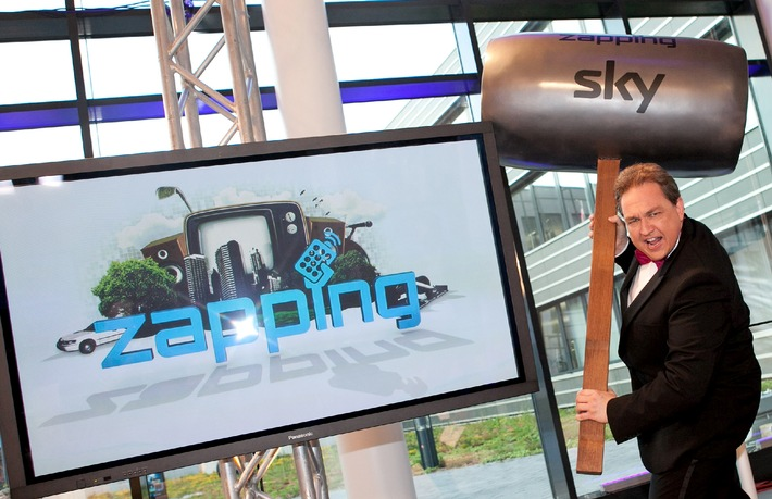 """TV-Kultformat erobert Internet: Neue """"Zapping""""-Folgen ab sofort auch auf sky.de, Facebook und YouTube (mit Bild)"""