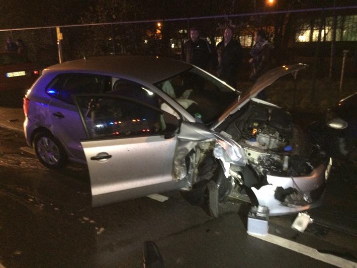 FW-Stolberg: Vier Verletzte und hoher Sachschaden
