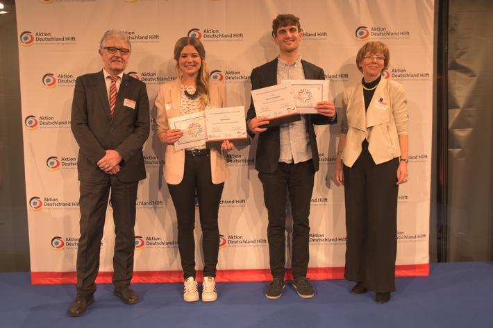Journalistenwettbewerb Humanitäre Hilfe: Die Gewinner stehen fest / Nachwuchsjournalisten aus Köln und Bonn überzeugen mit multimedialen Reportagen aus Nepal und Ostafrika