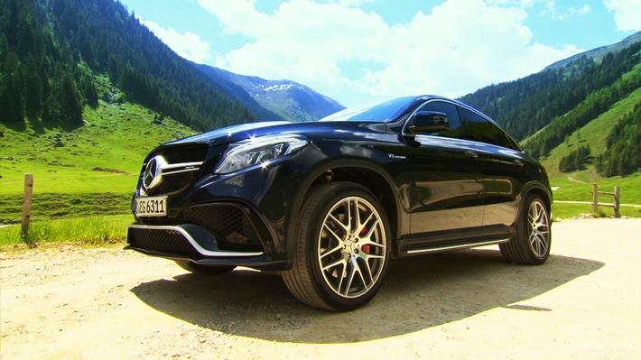 GRIP am Sonntag: Malmedie testet das GLE Coupé, Müller sucht Camaro, Corvette & Co.