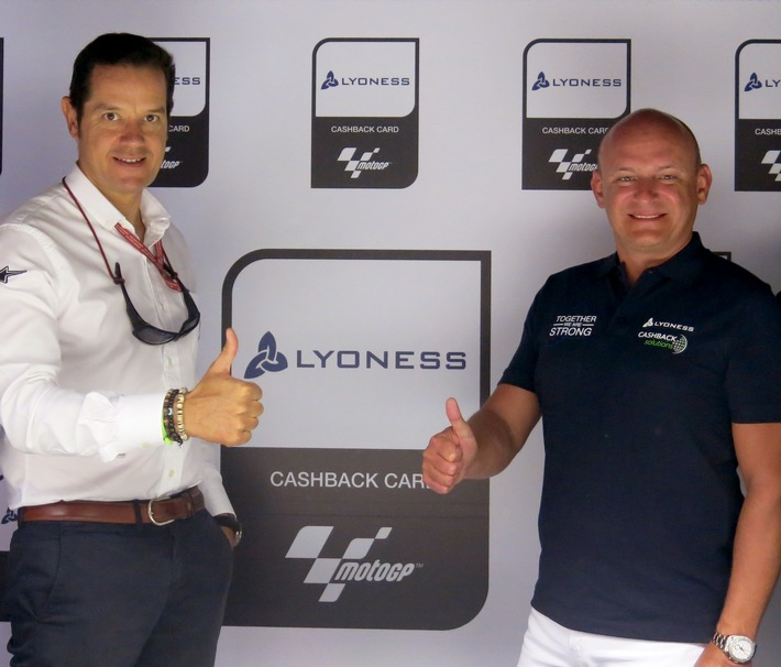 Lyoness neuer Partner der MotoGP - BILD