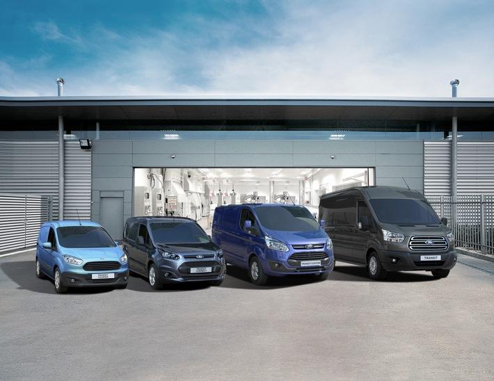 Bestes Zulassungsergebnis aller Zeiten: Ford Nutzfahrzeug-Geschäft wächst drittes Jahr in Folge